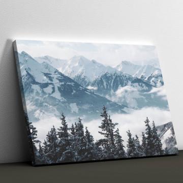 Tablou Canvas, Frumusetea muntilor
