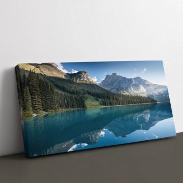 Tablou Canvas, Lac de smarald