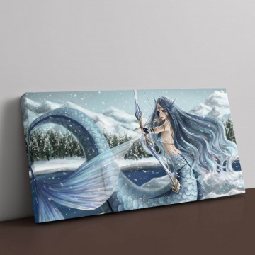 Tablou Canvas, Sirena de gheata