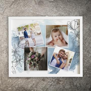 Tablou personalizat cu patru poze