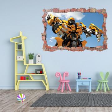 3D Sticker perete 60x90cm - Bumblebee