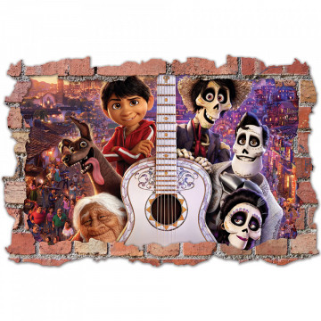 3D Sticker perete 60x90cm - Coco