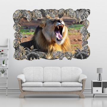 3D Sticker perete - Animale salbatice35