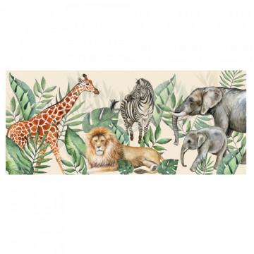 Fototapet autoadeziv copii - Safari