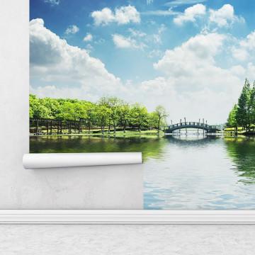 Fototapet autoadeziv - Podul