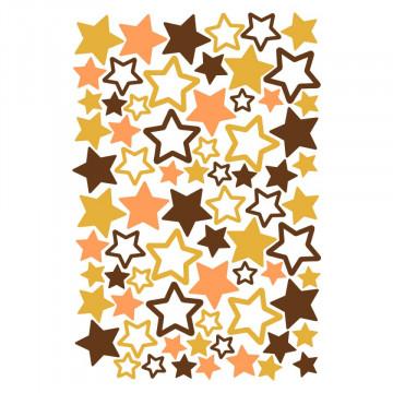Set stickere decorative perete copii - Stelute 40x60