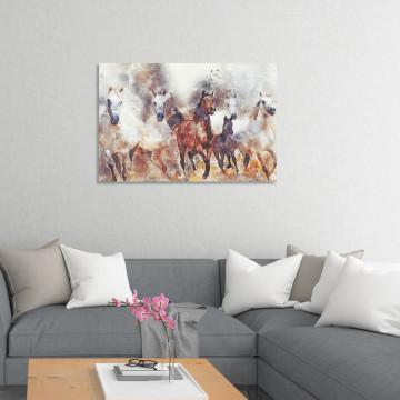 Tablou Canvas, Herghelie