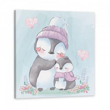 Tablou Canvas, Pinguinii