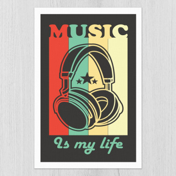Tablou - Music is my life