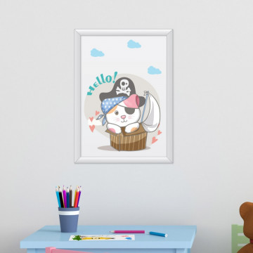 Tablou - Pisica Pirat