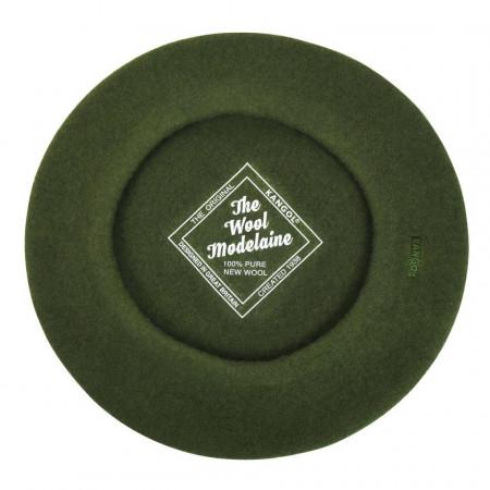Bereta Kangol Modelaine Verde Militar 4