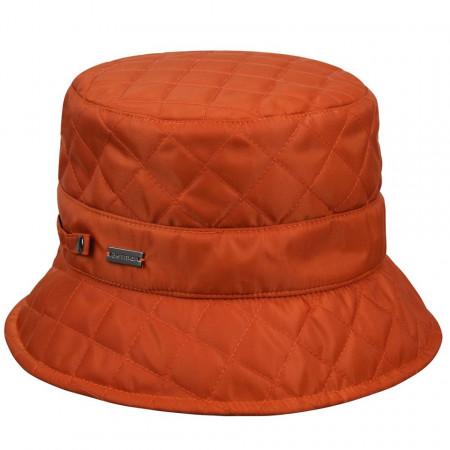 Palarie-Betmar-quilted-rain-bucket-portocaliu