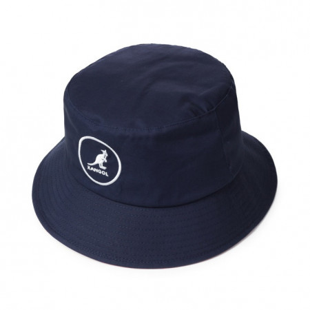 Palarie albastra Kangol Cotton Bucket 3