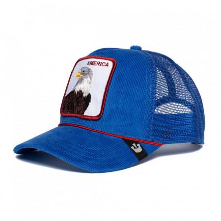 Sapca Goorin Brothers Trucker America For Real Albastru