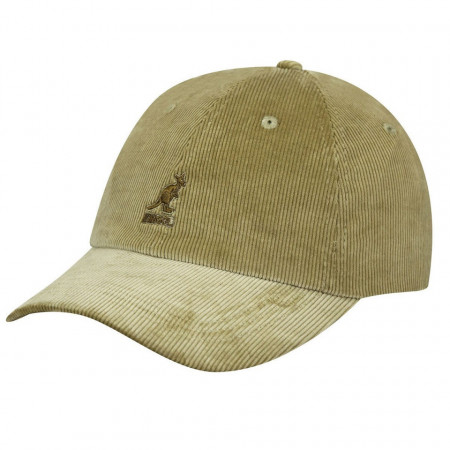 Sapca Kangol Cord Adjustable Baseball Bej