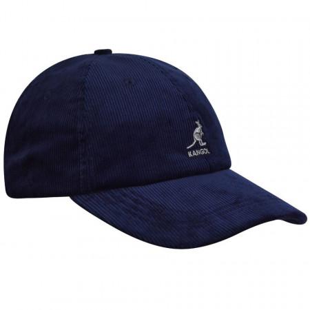 Sapca Kangol Cord Adjustable Baseball Bleumarin 2