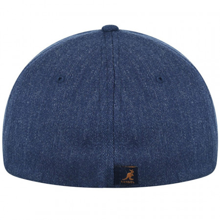 Sapca Kangol Wool Flexfit Baseball Denim 3