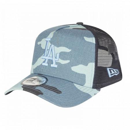 Sapca New Era Camo Essential Trucker Los Angeles Dodgers