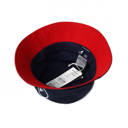 Palarie albastra Kangol Cotton Bucket 4