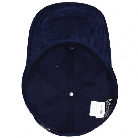 Sapca Kangol Cord Adjustable Baseball Bleumarin 4