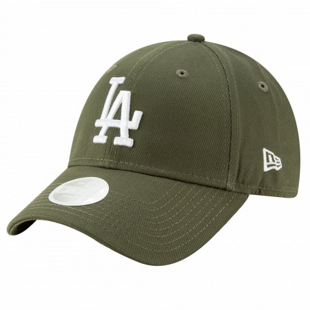 Sapca New Era 9forty Essential Los Angels Dodgers Verde Oliv