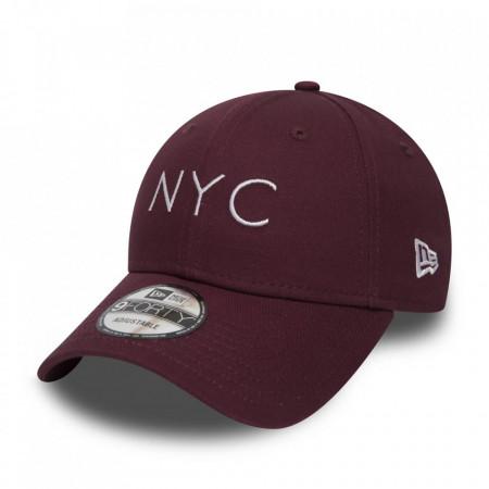 Sapca New Era 9Forty Essential NYC Rosu bordo