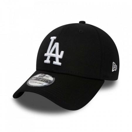 Sapca New Era 39thirty Basic Los Angeles Dodgers Negru/Alb