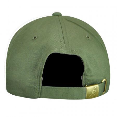 Sapca verde Kangol Cotton Adjustable Baseball 2
