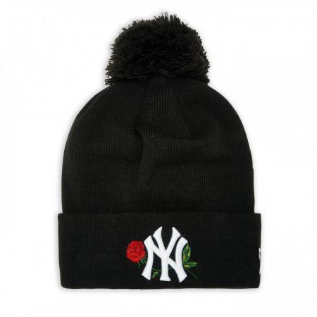 Caciula New Era Bobble Knit Twine NY Yankees Negru