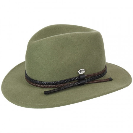 Palarie Bailey of Hollywood Nelles LiteFelt Fedora Verde