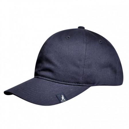 Sapca-Kangol-Cotton-Adjustable-Baseball-Bleumarin