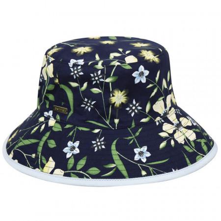 Palarie Betmar Florence Bucket Floral Bleumarin