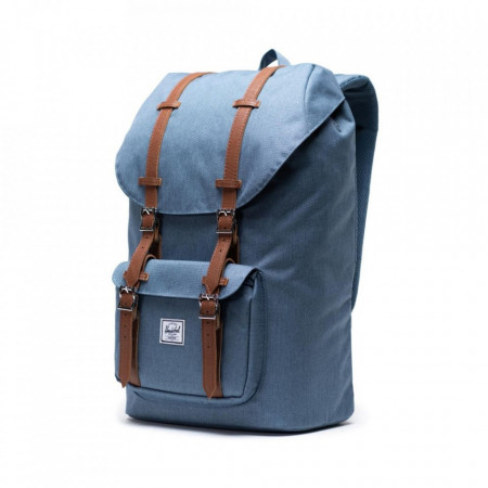 Rucsac Herschel Little America Blue Mirage Crosshatch 3
