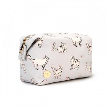 Geanta de cosmetice Mi-Pac Cats Gri 3