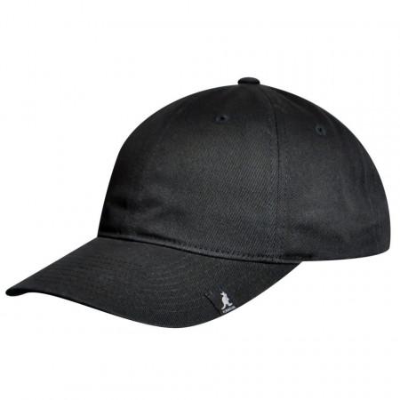 Sapca neagra Kangol Cotton Adjustable Baseball