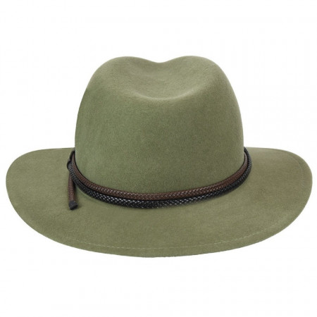Palarie Bailey of Hollywood Nelles LiteFelt Fedora Verde 4