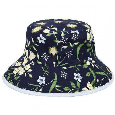 Palarie Betmar Florence Bucket Floral Bleumarin 2