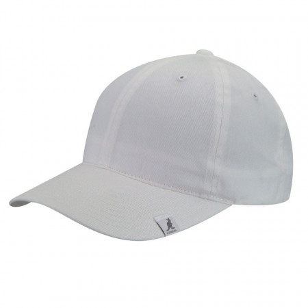Sapca alba Kangol Cotton Adjustable Baseball