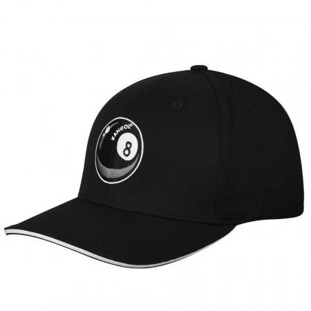 Sapca Kangol 8 Ball Logo Baseball Negru