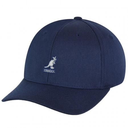 Sapca Kangol Wool Flexfit Baseball Albastru