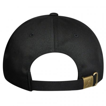 Sapca neagra Kangol Cotton Adjustable Baseball 3