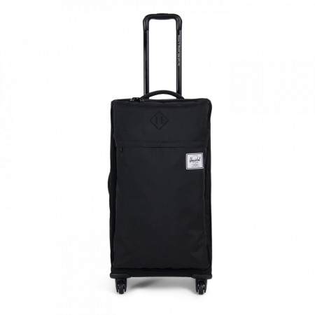 Troler textil Herschel Highland Carry-On, Negru 75cm