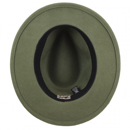 Palarie Bailey of Hollywood Nelles LiteFelt Fedora Verde 5