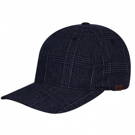 Sapca Kangol Pattern Flexfit Baseball Navy Check