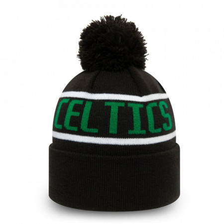 Caciula New Era Striped Cuff Bobble Knit Boston Celtics 2