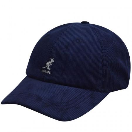 Sapca Kangol Cord Adjustable Baseball Bleumarin