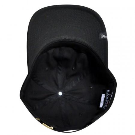 Sapca neagra Kangol Cotton Adjustable Baseball 4