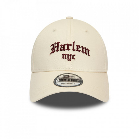 Sapca New Era 9forty Harlem NYC Strapback Bej 2