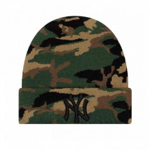 Caciula New Era New York Yankees Camo Knit Cuff