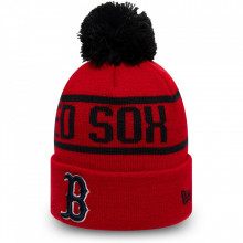 Caciula New Era Striped Cuff Bobble Knit Boston Red Sox